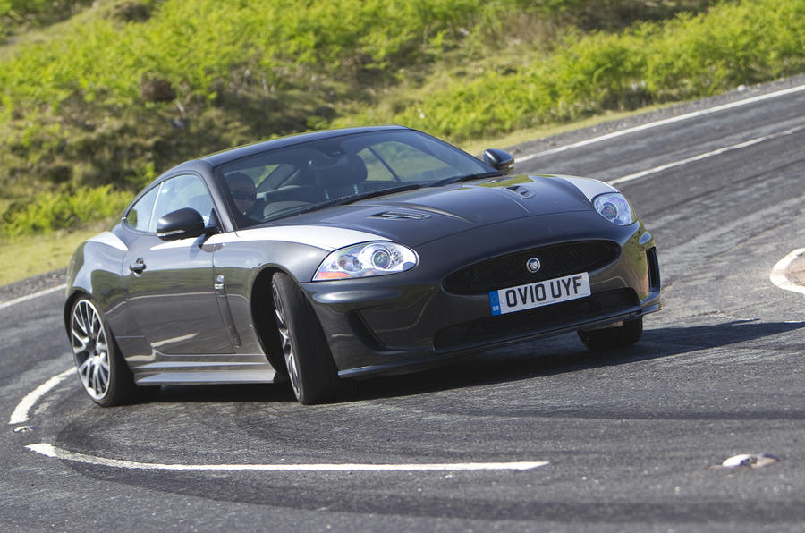 Jaguar XKR 75 drfiting