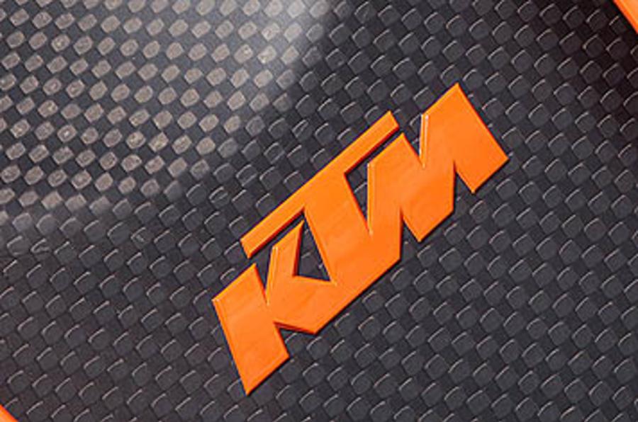 KTM badging