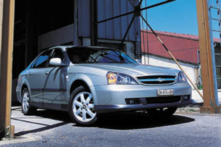 Chevrolet Evanda 2.0