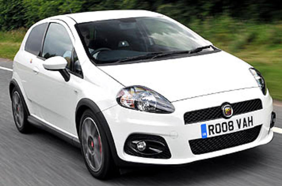 fiat grande punto 1 4t abarth review autocar. Black Bedroom Furniture Sets. Home Design Ideas