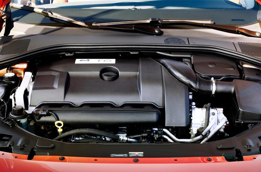 3.0-litre Volvo S60 T6 petrol engine