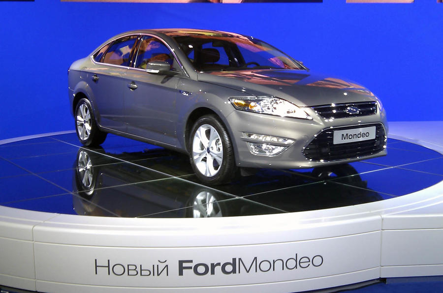 New Ford Mondeo at Moscow