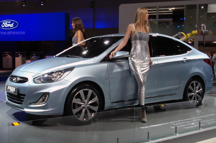 Hyundai's new budget saloon