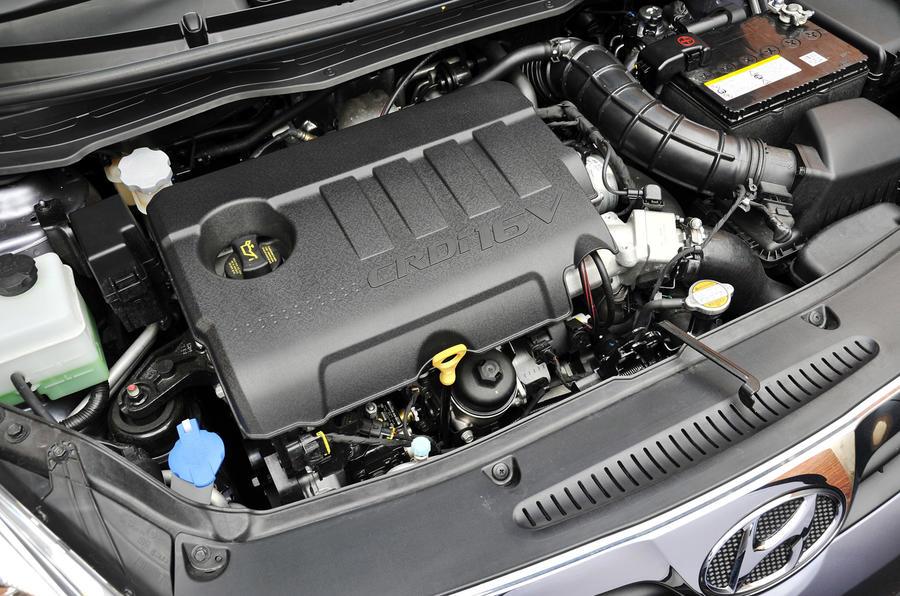 1.4-litre Hyundai i20 diesel engine
