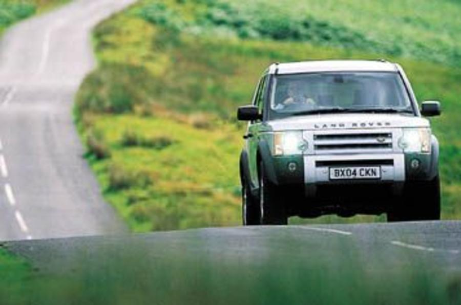 Land Rover Discovery TDV6