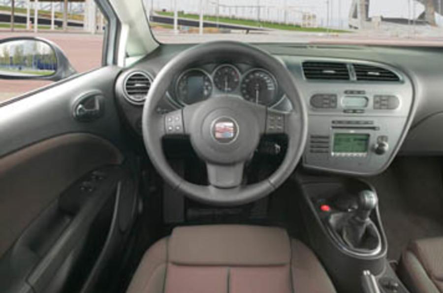 seat leon 2 0 fsi review autocar. Black Bedroom Furniture Sets. Home Design Ideas