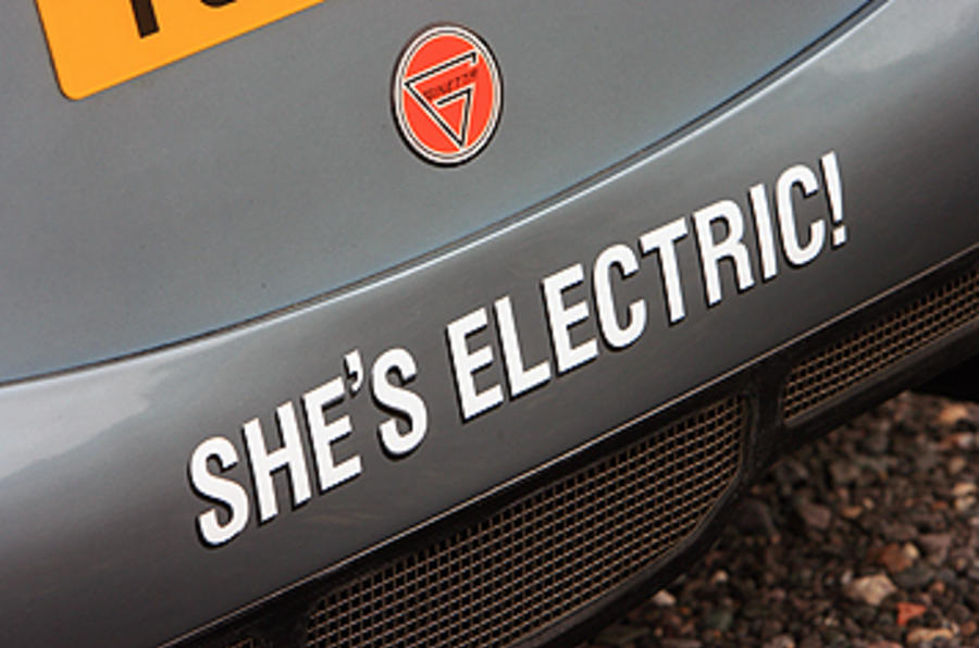 Ginetta G50 EV Prototype decals