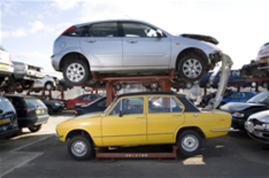 Scrappage boosts car sales