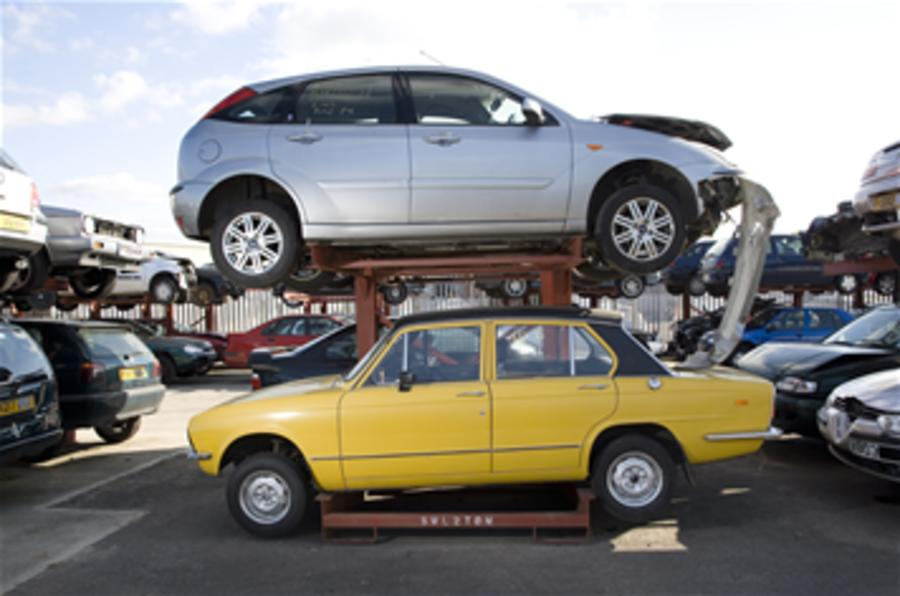 Post-scrappage Euro sales slump