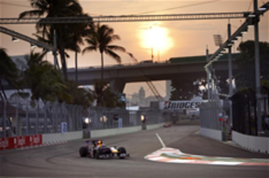 Vettel sets Singapore F1 pace