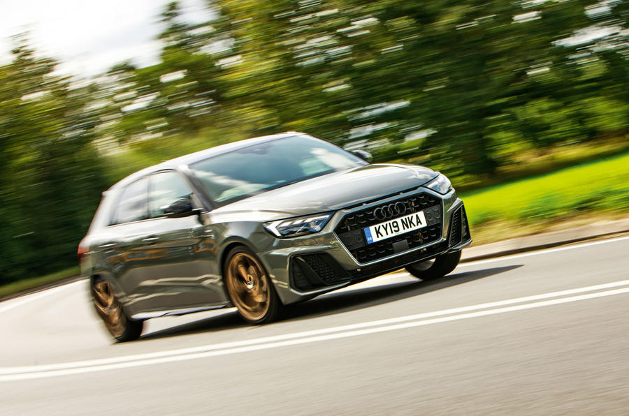 Audi A1 S Line 2019 road test review - on the road front