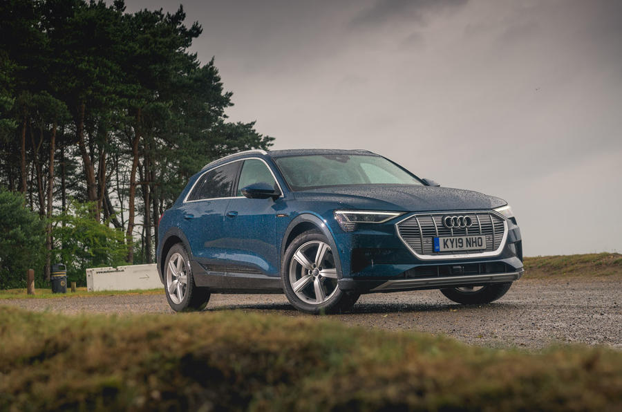 Audi E-tron 55 Quattro 2019 road test review - static