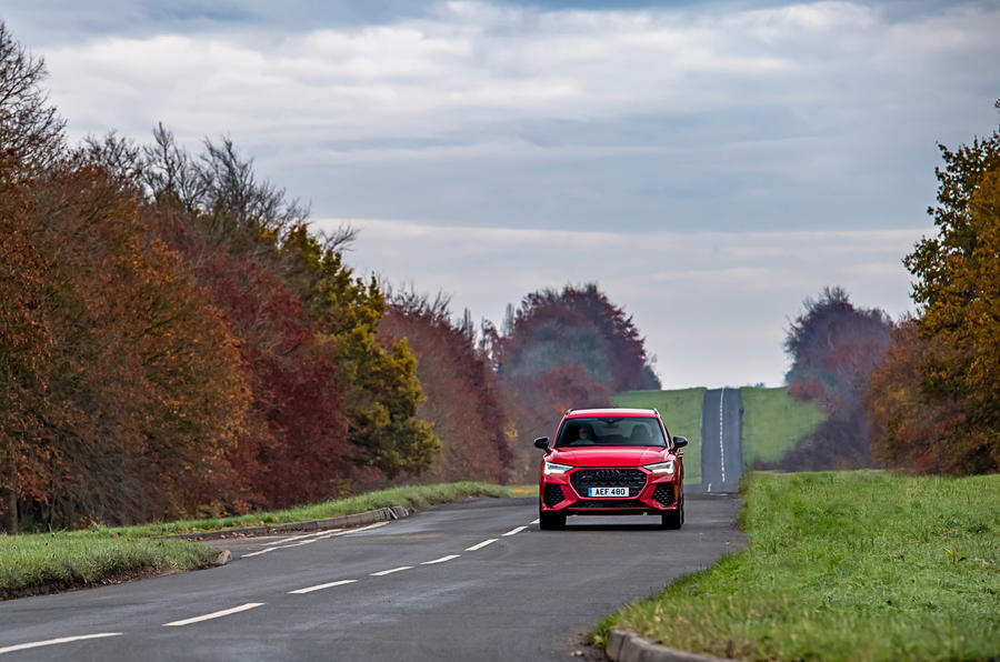 Audi RS Q3 2020 road test review - on the road