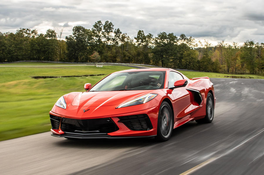 Corvette Stingray C8 2019 road test review - track corner