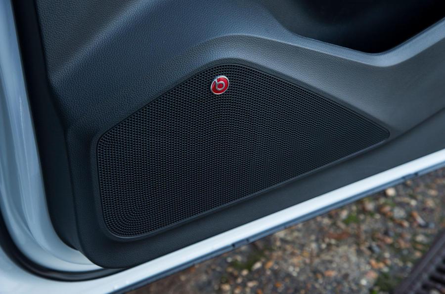 Cupra Ateca 2019 road test review - beats speakers