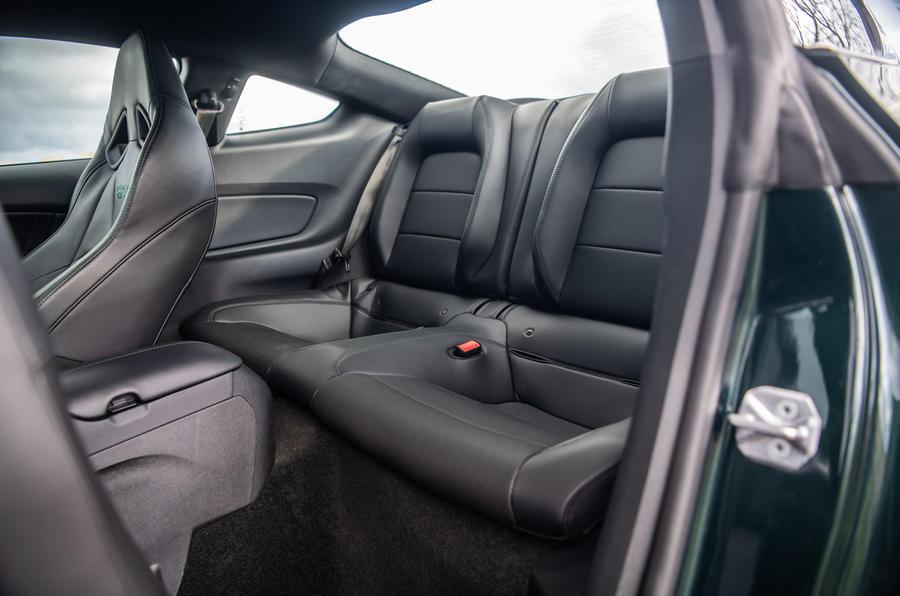 Ford Mustang Bullitt 2018 road test review - rear seats