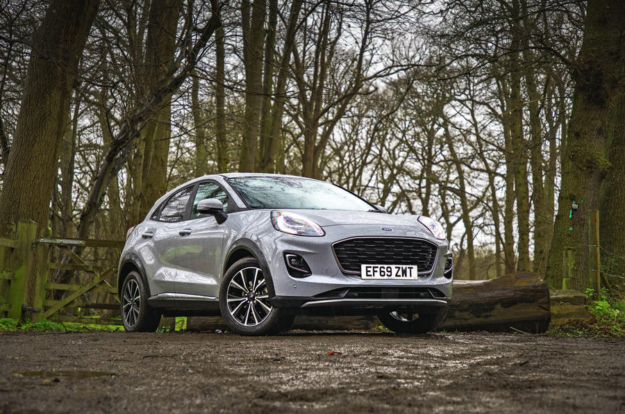 Ford Puma 2020 road test review - static