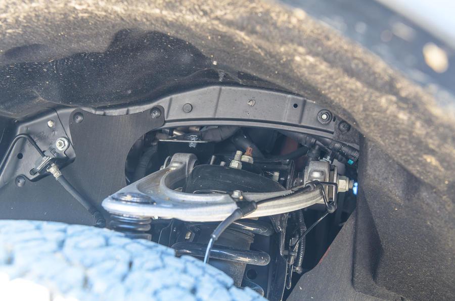 Ford Ranger Raptor 2019 road test review - suspension