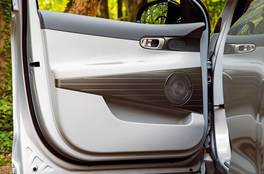 Hyundai Nexo 2019 road test review - door cards