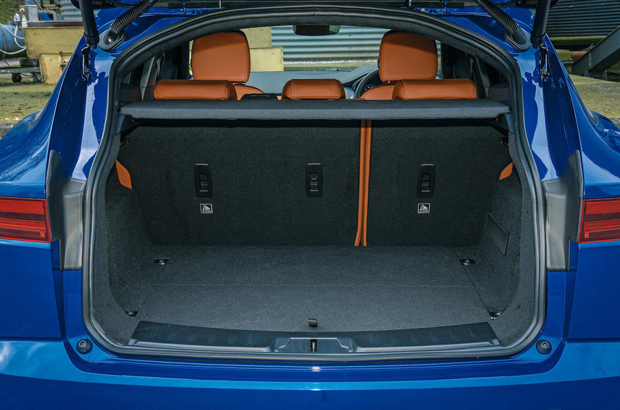 Jaguar E-Pace review boot space