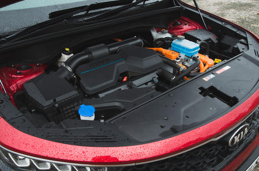 26 Kia Sorento 2021 moteur d'essai routier