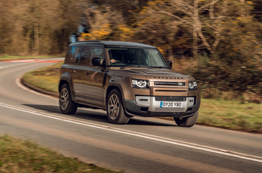 Land Rover Defender 2020 road test review - on the road front