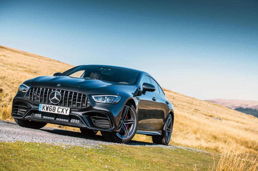 Mercedes-AMG GT four-door Coupé 2019 road test review - static