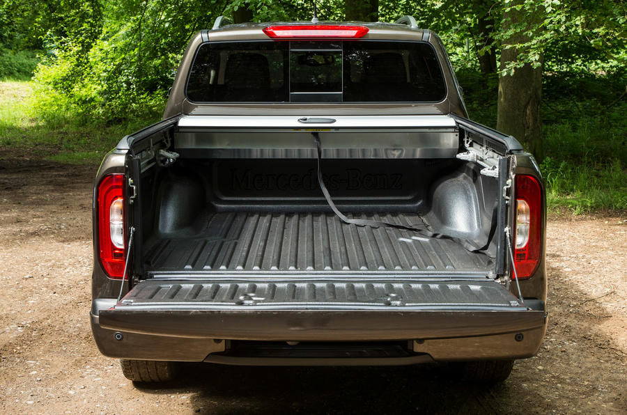 Mercedes-Benz X-Class road test review flatbed capacity