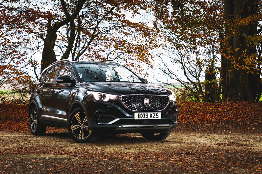 MG ZS EV 2019 road test review - static