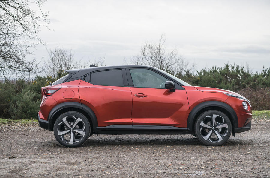 Nissan Juke 2020 road test review - static side