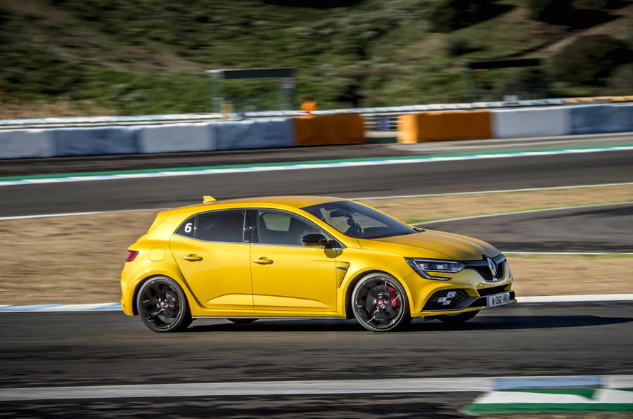 Renault Megane RS 280 2018 road test review side profile