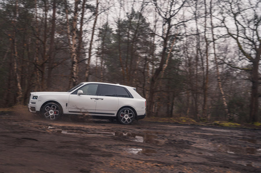 Rolls Royce Cullinan 2020 road test review - offroad