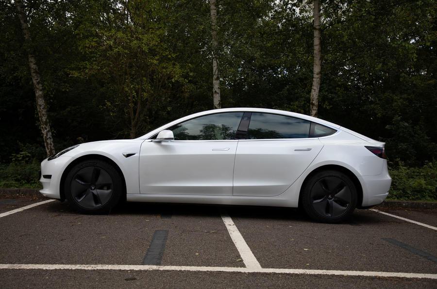Tesla Model 3 road test - static side
