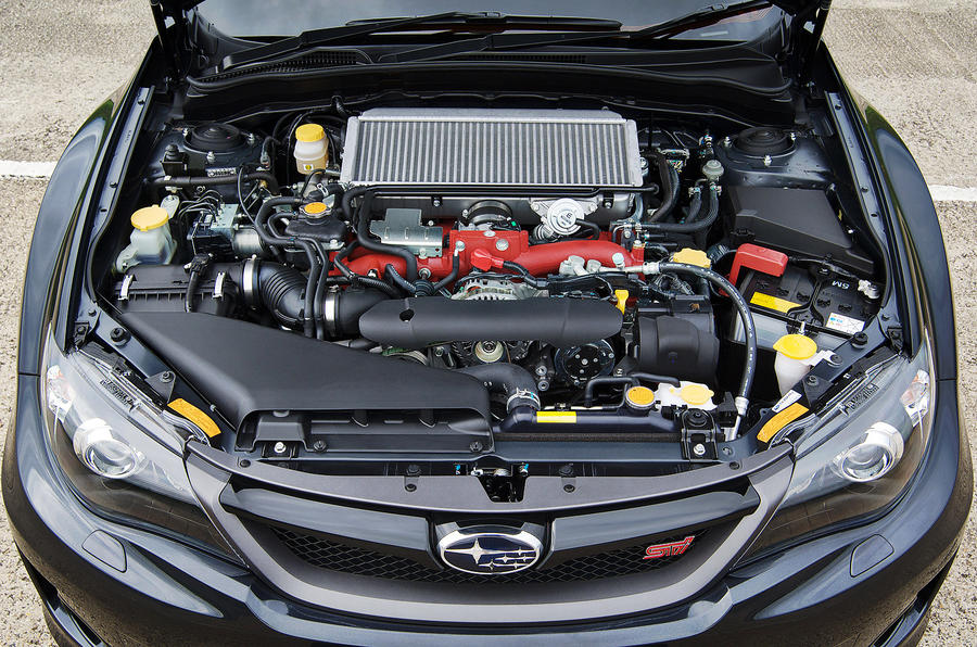 2.5-litre Subaru WRX STI 320R engine