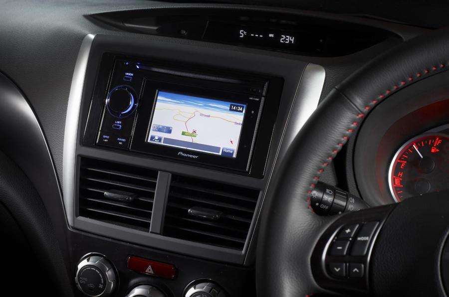 Subaru WRX STI 320R infotainment