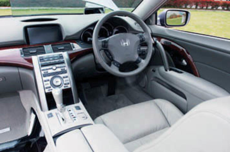 Honda Legend 3 5 V6 Review Autocar