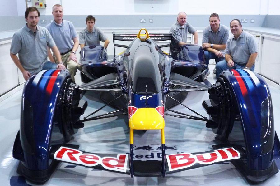 Red Bull fantasy racer made real