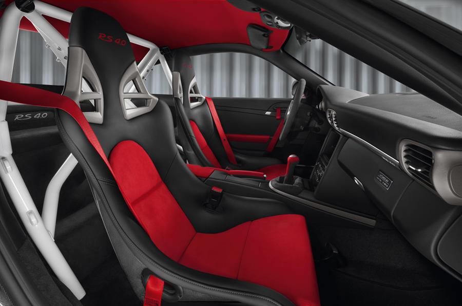 Porsche 911 GT3 RS 4.0 sport seats