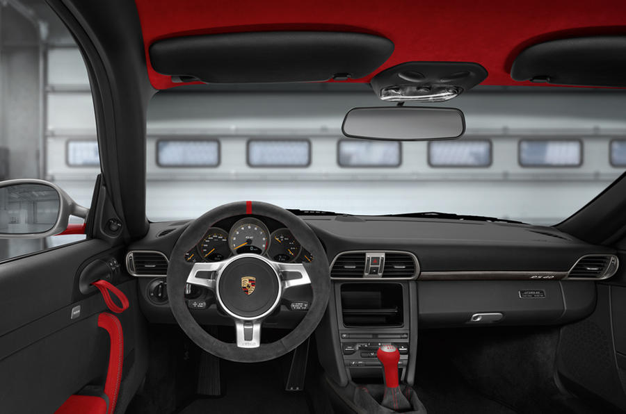 Porsche 911 GT3 RS 4.0 dashboard