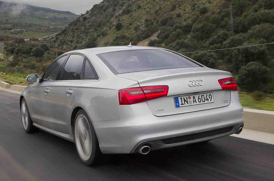 Audi A6 3.0 TDI quattro rear