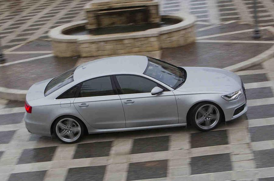 Audi A6 3.0 TDI quattro side profile