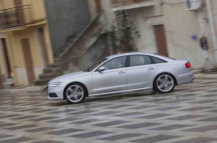 Audi A6 3.0 TDI quattro in town