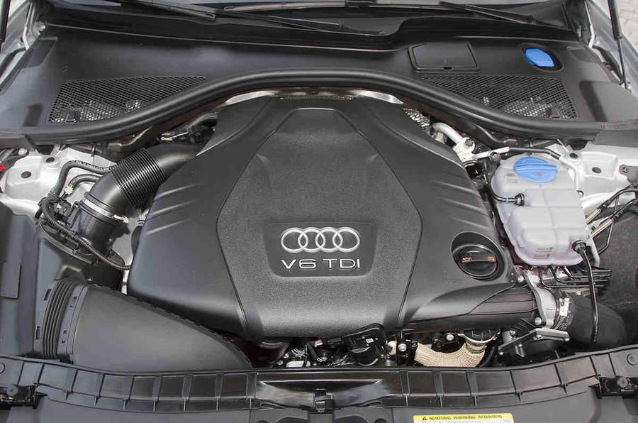 3.0-litre TDI Audi A6 engine
