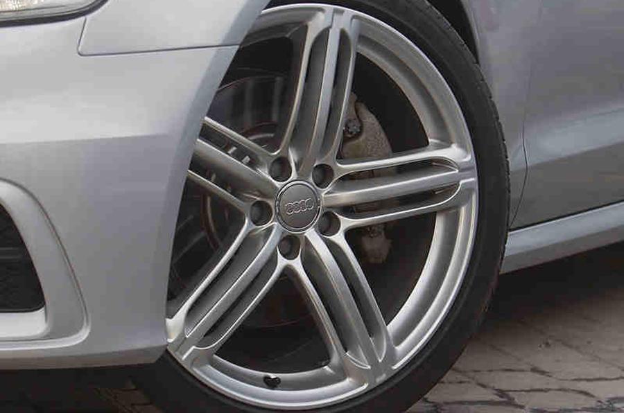 19in Audi A6 alloys