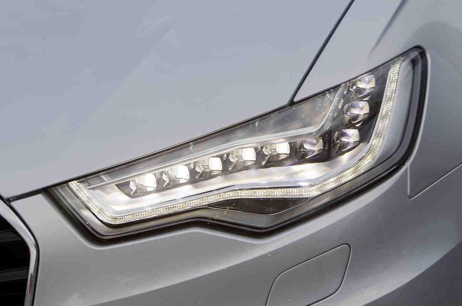 Audi A6 LED headlights