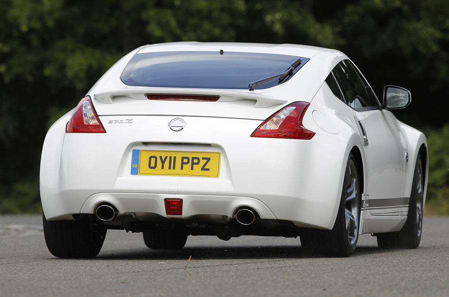 Nissan 370Z GT Edition rear