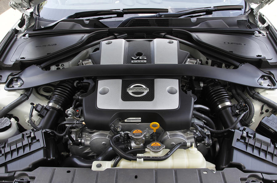 3.7-litre V6 Nissan 370Z GT Edition engine