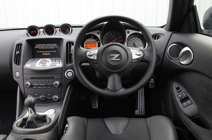 Nissan 370Z GT Edition dashboard
