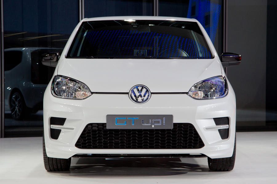 Volkswagen Up GT front end