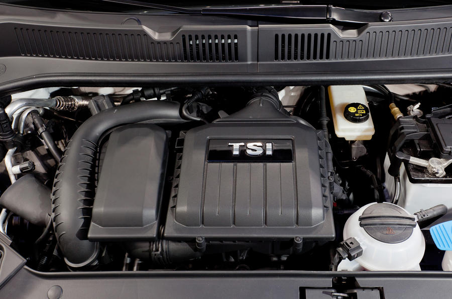 1.0-litre TSI Volkswagen Up GT engine
